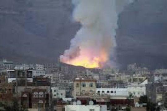 Serangan udara pimpinan Saudi tewaskan 20 warga Yaman