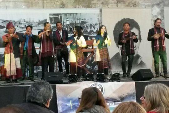 Saat masyarakat Spanyol menari mendengar Sinanggar Tulo