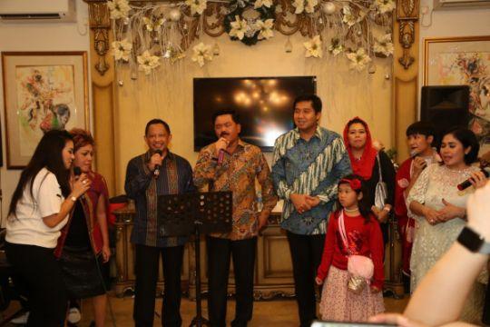 Panglima TNI dan Kapolri kompak hadiri perayaan Natal