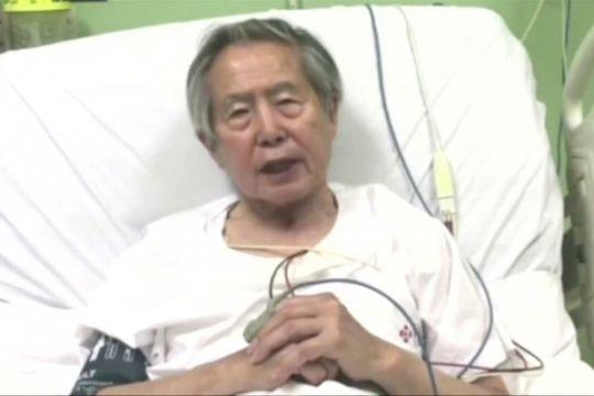 Peru batalkan pengampunan bagi mantan presiden Alberto Fujimori