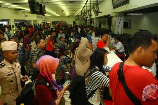 Mudik Natal bandara Soekarno Hatta