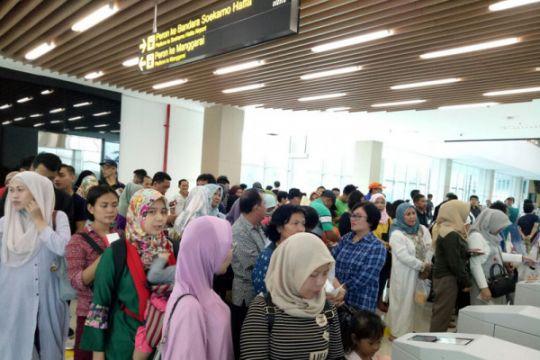 Penumpang kereta Bandara Soekarno-Hatta melonjak