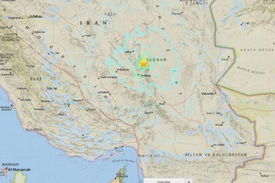 Iran diguncang tiga gempa beruntun
