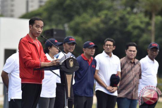 Peresmian Empat Venue Asian Games XXVIII