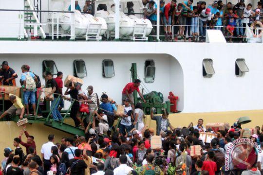 Empat kapal Pelni siap layani pemudik dari Biak, Papua