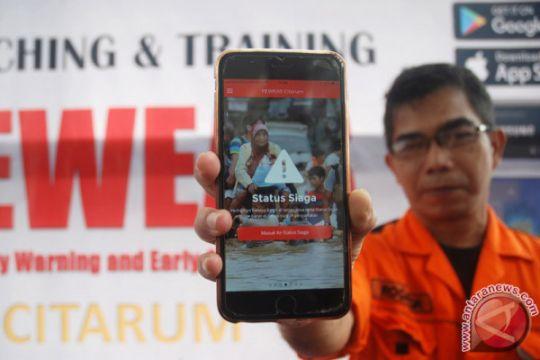 Peluncuran Aplikasi Peringatan Bencana