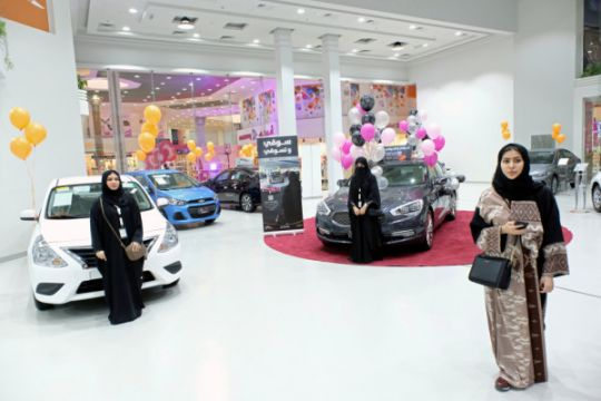 Pameran otomotif khusus perempuan dibuka di Jeddah