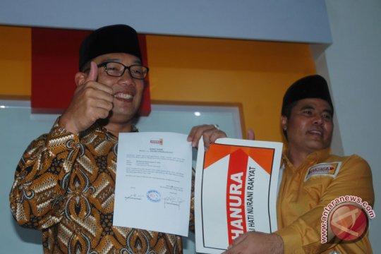 Hanura Resmi Dukung Ridwan Kamil