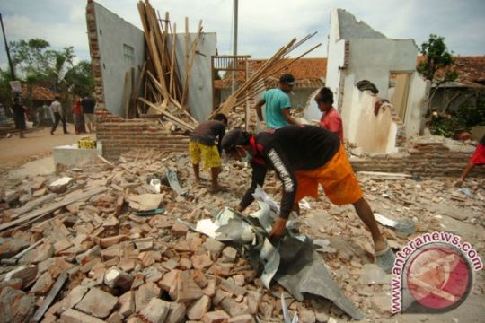 BPBD Ciamis : 1.640 rusak akibat puting beliung