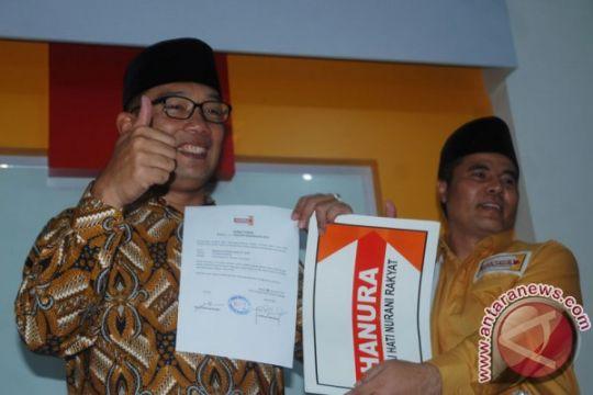 Hanura persilakan Ridwan Kamil pilih pendampingnya