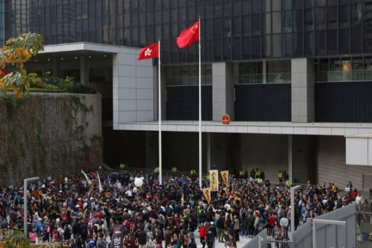 Ribuan warga Hongkong protes UU ekstradisi baru