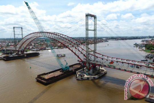 Jembatan Musi VI diminta rampung sebelum Asian Games 2018