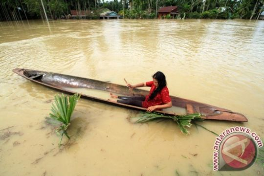 24.321 orang jadi korban banjir di Aceh Singkil