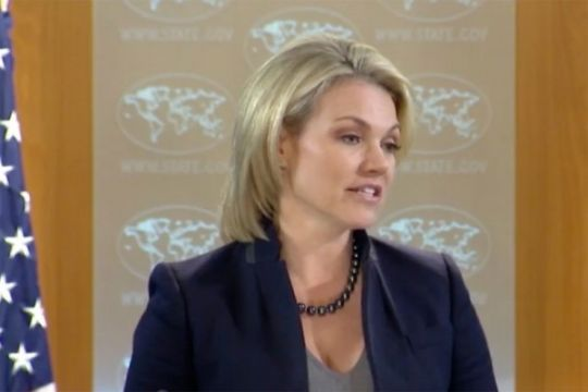 "AS ""sangat prihatin"" dengan penahanan warga negara Swedia oleh China"
