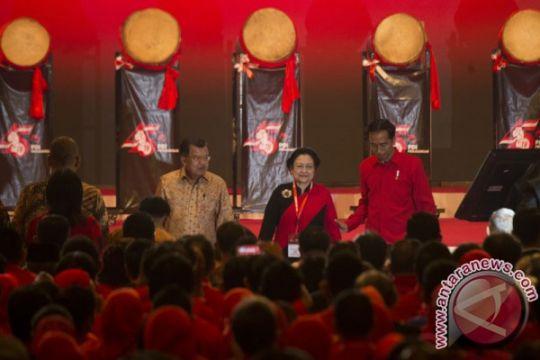Harapan Wapres saat Megawati ulang tahun ke-71