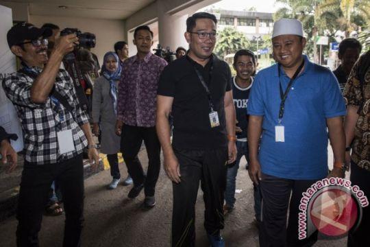 Ridwan Kamil joging jelang tes kesehatan