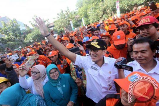 Sandiaga ingin warga terlibat dalam penanganan masalah Jakarta