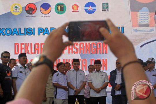 Deklarasi Paslon Walikota Padang