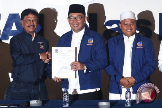 Nasdem Dukung Ridwan Kamil-UU Ruzhanul