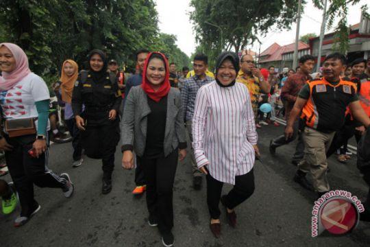 Ditemani Puti Guntur Soekarnoputri, Risma gunakan hak pilihnya di TPS 001