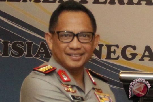 Polri paling dipercaya publik setelah TNI dan KPK