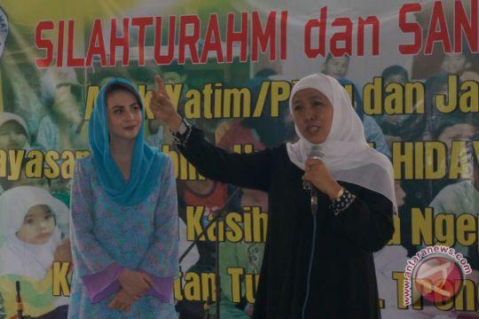 Arumi garap pemilih milenial untuk Khofifah-Emil