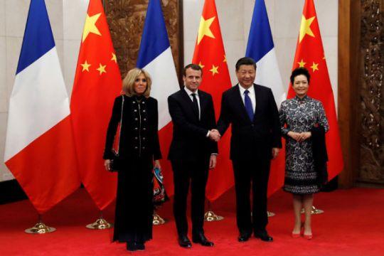 Presiden Prancis kunjungi Kota Terlarang Beijing