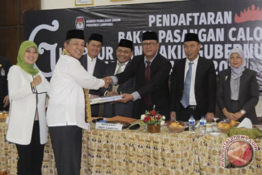 Pendaftaran Bakal Calon Gubernur Lampung