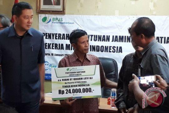 BPJS-TK beri santunan kematian calon TKI Malaysia