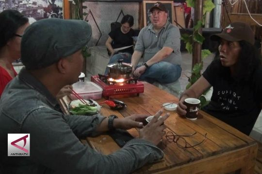 Grup Band Slank promosikan kopi Indonesia