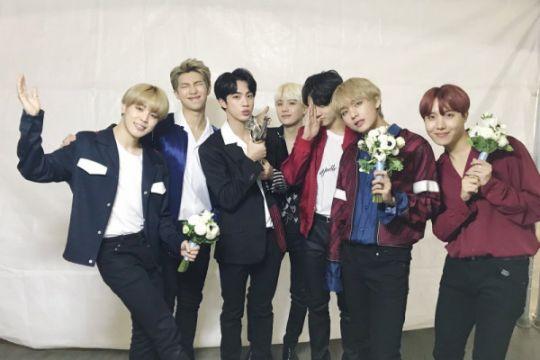 BTS sabet Daesang di Seoul Music Awards 2018