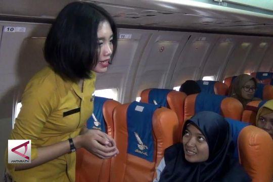 Agar ibu hamil merasa aman saat di pesawat