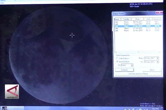 Gerhana Bulan Supermoon, waspada pasang air laut