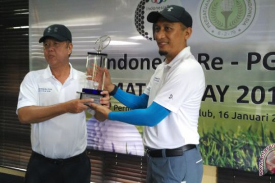 Indonesia Re jadi sponsor tunggal turnamen golf PGAI Matchplay