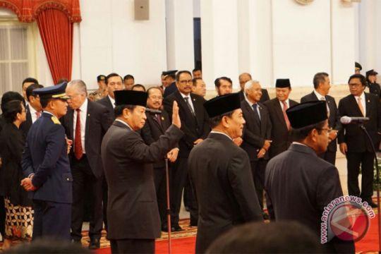 Presiden Jokowi pilih Idrus karena merasa cocok