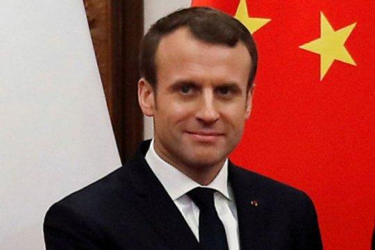 Presiden Prancis akan bahas Brexit dengan PM Inggris