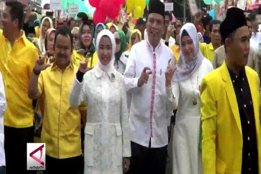 Paslon 3 Daerah di Banten Melawan Kotak Kosong