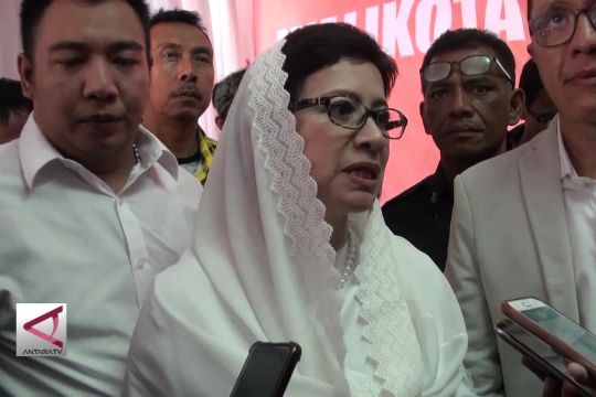 Nurul Arifin Mendaftar Sebagai Balon Walikota Bandung