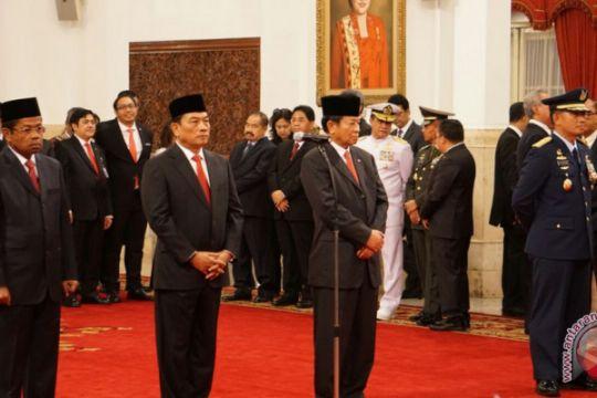 Presiden lantik empat pejabat
