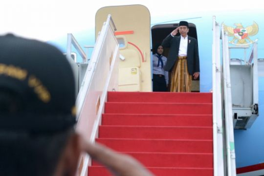 Presiden ke Pekalongan kunjungi Pondok Pesantren Jatman