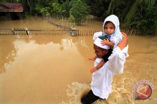 Foto Kemarin: Banjir Di Aceh Utara