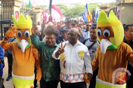 Pasangan Petahana Daftar Pilgub Papua