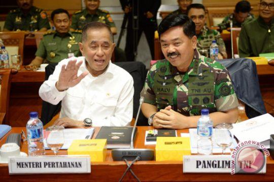 Menhan: penanggulangan terorisme ancam negara perlu libatkan TNI