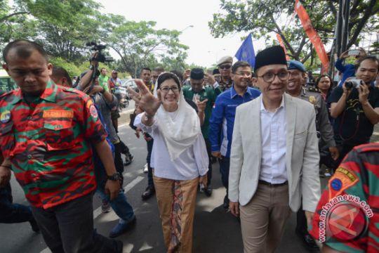 Nurul-Ruly Mendaftar Pilwalkot Bandung