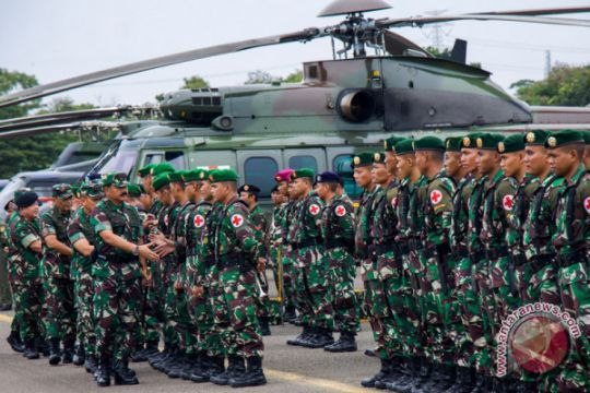 Panglima TNI Berangkatkan Satgaskes
