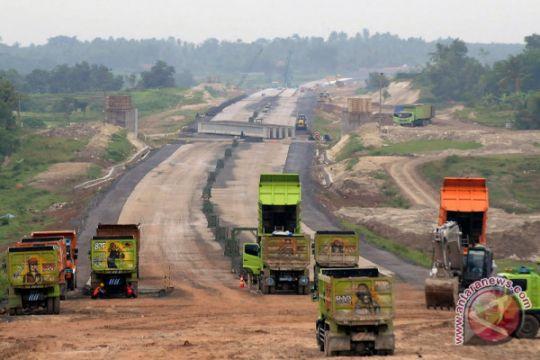 Segmen I jalan tol Manado-Bitung sudah 40,41 persen