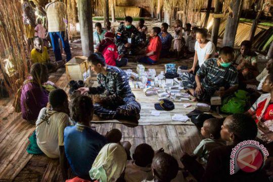 206 personel Satuan Tugas Kesehatan TNI berangkat ke Papua
