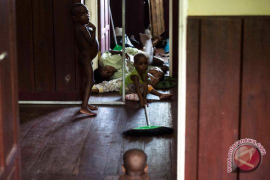 Polres Mimika galang dana untuk Asmat