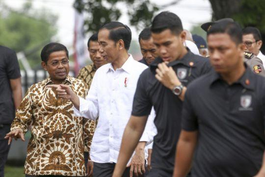 Presiden serahkan ribuan sertifikat tanah di Palembang