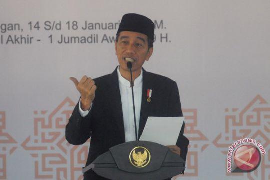 Presiden berpesan Festival Sholawat jadi perekat persaudaraan umat